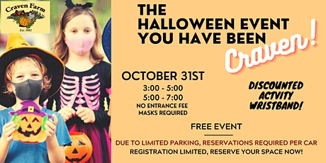 The Trick or Treat Event you've been CRAVEN! tickets
