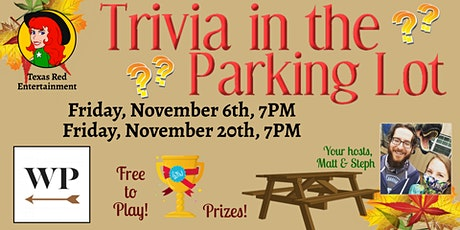 Trivia in the Park.... ing Lot, West Pecan Coffee + Beer, Pflugerville, TX tickets