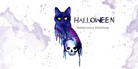 Halloween - Watercolour Workshop tickets