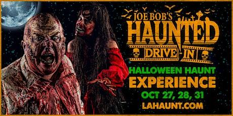 Joe Bob's Haunted Drive-In @The Roadium Drive-In! tickets