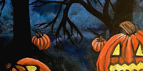 Live Online Halloween Pumpkin Patch Paint Party tickets