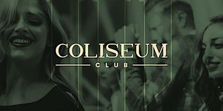 Coliseum Club ingressos