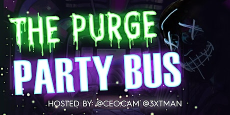Light Up Masks Presents: The Purge Party Bus tickets