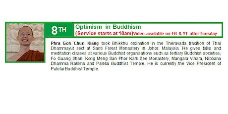 8 Nov Sunday Service:  Talk by Phra Goh Chun Kiang tickets