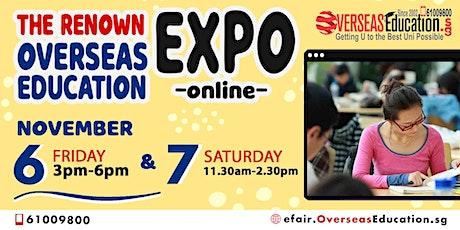 The Renown Overseas University Virtual Expo tickets