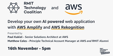 Meet and Build an AI powered Web App with AWS experts tickets