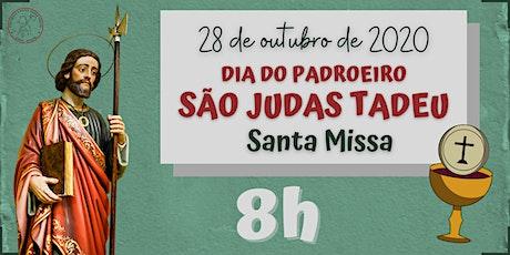 Dia do Padroeiro São Judas Tadeu | QUARTA, 28/10 - 8h ingressos