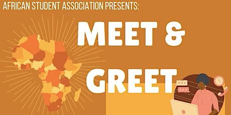 ASA MEET AND GREET 2020/2021 tickets