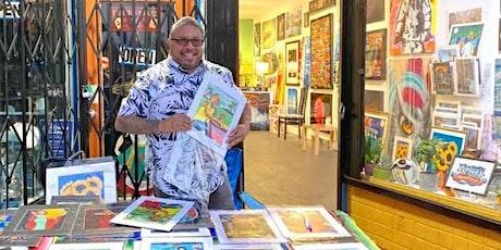 """Master Artist Carlos """"Kookie""""  Gonzalez Dia de los Muertos Art Exhibit tickets"""