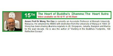 15 Nov Sunday Service:  Talk by Dr Wong Yin Onn tickets