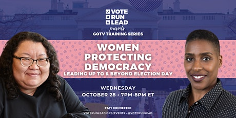 Women Protecting Democracy Leading up to and Beyond Election Day tickets