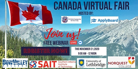 CANADA VIRTUAL FAIR tickets