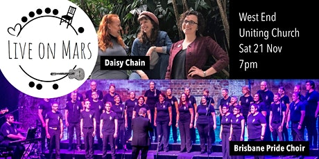 Brisbane Pride Choir and Daisy Chain LIVE! tickets