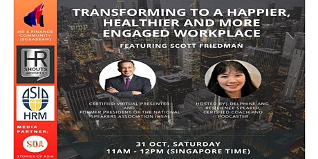 Transform to a More Engaging, Healthier & Happier Employee Workplace tickets