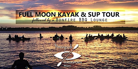 HALLOWEEN BLUE MOON KAYAK & SUP Tour  with BONFIRE  and WINE tickets