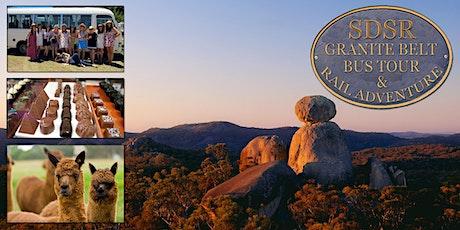 NEW!! Heritage Train to Wallangarra- Granite Belt Country Tour