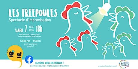 Cabaret-Match des Freepoules billets