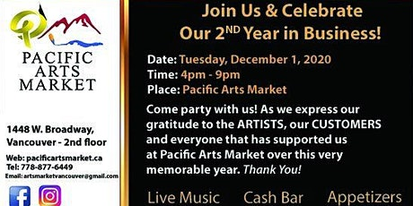 Pacific Arts Market Turns 2! tickets