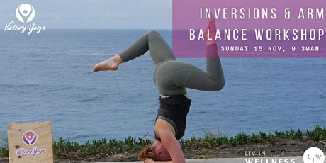 Inversions & Arm Balance Workshop By The Ocean tickets