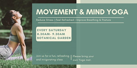 Movement and Mind Yoga tickets