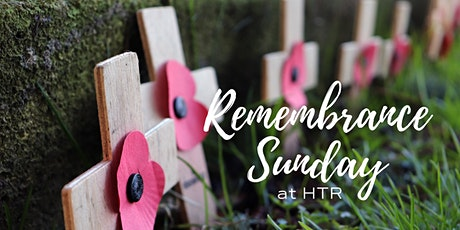 Remembrance Sunday Communion Service at HTR tickets