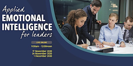 Applied Emotional Intelligence for Leaders tickets