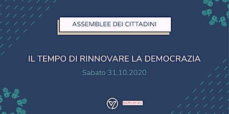 Politici... per Caso! Il tempo di rinnovare la democrazia biglietti