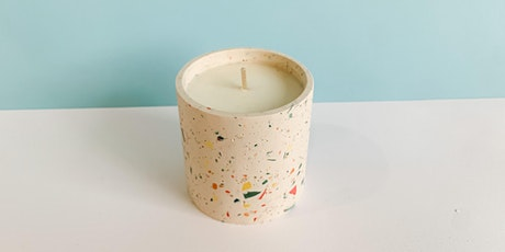 Terrazzo  Candle Workshop (Introduction to Essential Oils & Candle Making) tickets