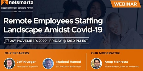 Remote Employees Staffing Landscape Amidst Covid-19 tickets