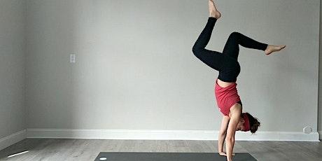 Free Virtual Advanced Online Power Yoga with Brittany —  BIR tickets
