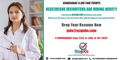 Ozajobs Providing Best Healthcare Jobs Working for The Betterment of the He tickets