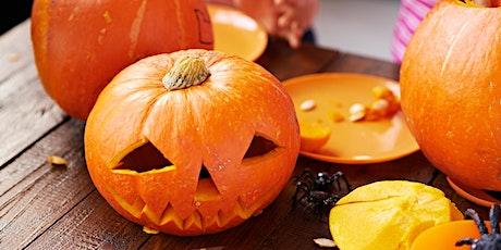 Halloween Pumpkin Carving - For Kids tickets