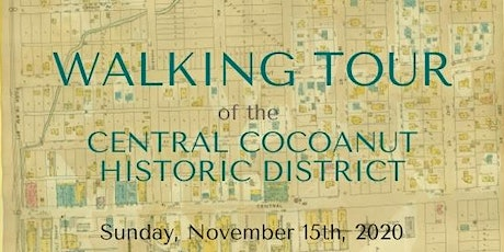 Guided Walking Tour of Historic Homes in Cocoanut District tickets