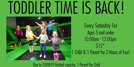 Toddler Time Launch Richmond Ticket for 11/7 from tickets