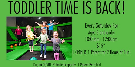 Toddler Time Launch Richmond Ticket for 11/21 from tickets