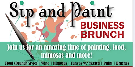 Sip and Paint (Business Brunch) tickets