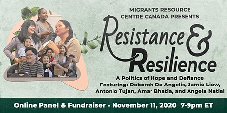 Resistance & Resilience: Online Panel and Fundraiser tickets