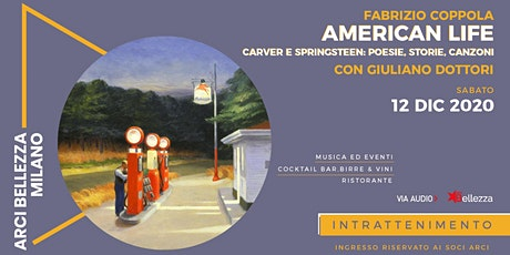 American Life: Carver e Springsteen biglietti