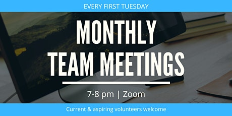 Monthly Team Meeting tickets
