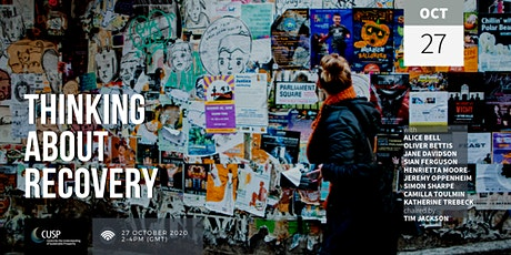 Thinking about Recovery—An Audience with the CUSP Advisory Committee tickets