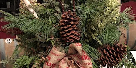 Holiday Winter Porch Pot tickets