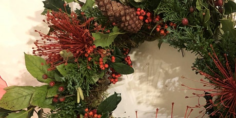 Christmas Wreath-Making ZOOM & Kit tickets
