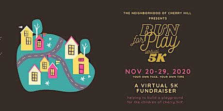 Run for Play Virtual 5K tickets