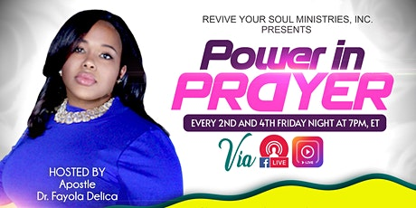 Power in Prayer tickets