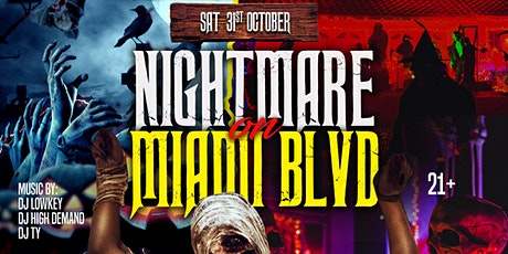 NIGHTMARE ON MIAMI BLVD! tickets