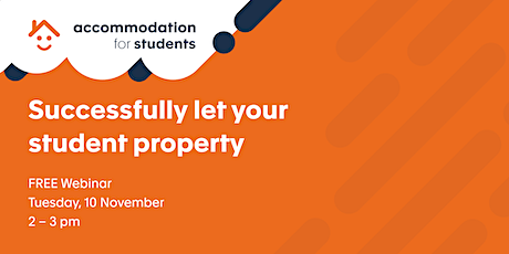Accommodation For Students Webinar tickets
