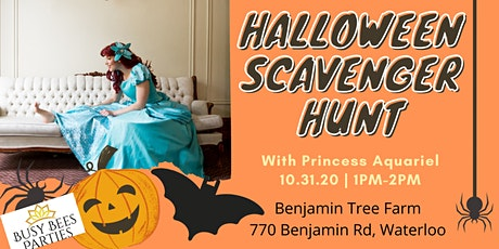 Halloween Scavenger Hunt with the Little Mermaid - Second Session tickets