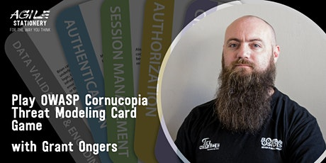 Play OWASP Cornucopia with security expert Grant Ongers tickets