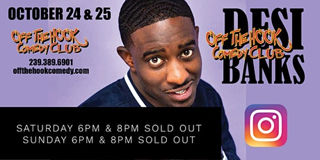 Desi Banks Comedy Tour LIVE in Naples, Florida! tickets