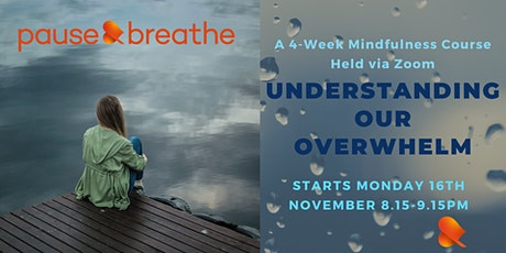 Understanding Our Overwhelm - a 4-Week Course on Zoom tickets
